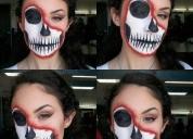 Maquillaje para halloween, contactarse.