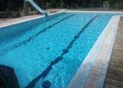 servicio y mantenimiento de piscina, contactarse.