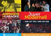 AnimaciÓn de eventos y karaoke,contactarse.