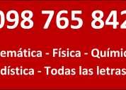 Preparacion para ingreso a eutm,escuela de tecnologia medica 098765842 27105041