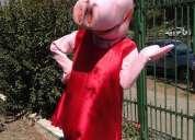Animacion de cumpleaÑos hasta 6 aÑos con peppa pig. de 1metro 80.