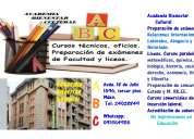 Preparación de exámenes de matemáticas, biología, historia, sociología para bachillleratos y li