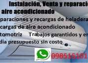 Tecnico aire acondicionado - instalacion - service mantenimiento - ventas