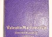 Agenda antigua   valentin martinez  y cia. aÑo 1941     iii u n i c a !!!