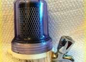Filtro purificador de agua con canilla