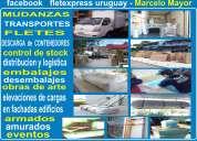 Fletexpress - empresa de fletes - mudanzas - amoblamientos - embalajes -