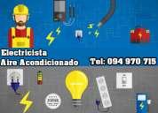 Electricista en montevideo tlf: 094 97 07 15