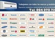 Instalación de aire acondicionado en montevideo tel: 094 970 715