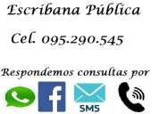 Escribana pública estudio juridico notarial