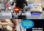 Servicio de emvios en moto, cadeteria