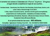 Cataratas en turismo con travel express uruguay