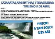 En turismo cataratas argentinas y brasileras