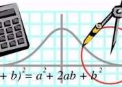 Clases de calculo, matemÁtica y fÍsica en carrasco y cordÓn