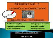 PreparaciÓn de prÁcticos de concurso para maestros de educaciÓn inicial y educaciÓn comÚn -  20