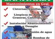 Instalaciones y reparaciones sanitarias