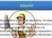 Oportunidad! oficial albaÑil