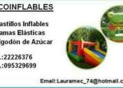 alquiler castillos inflables. contactarse.