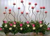 Centro de mesas ,adornos para salones,arreglos florales