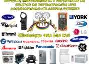 Servicio tecnico en refrigeracion instalacion aire acondicionado