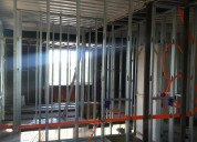 Steel framing, construccion en seco, yesero
