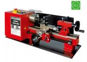 Torno mecanico paralelo mini dimensiones monofasico 300/180