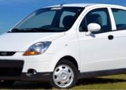 Auto chevrolet spark, alquile en snappy car rental un auto sin chofer en montevideo, uruguay.