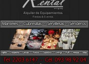 alquiler de manteles uruguay,alquiler de manteleria uruguay,alquiler de cubresillas
