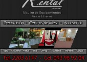 alquiler de hornos uruguay,alquiler de alfombras uruguay,alquiler de barras uruguay