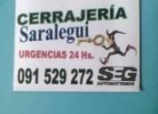 Cerrajeria maldonado 091529272 urgencias auto casa 24h saralegui