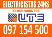 Electricista centro 24 horas barato ((0 9 7 1 5 4 5 0 0)) montevideo