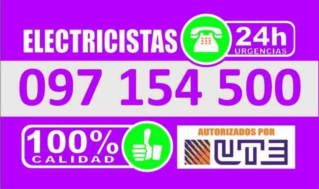 ELECTRICISTA EN LA BLANQUEADA (( 097 154 500 )), MONTEVIDEO 24 HORAS