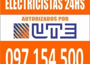 Electricista carrasco 24 horas (( 097 154 500 )) montevideo urgencias