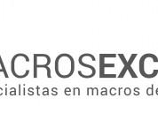Uruguay macros excel sap defontana softland cosultoria en