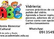 Vidriería. curso básico con opción a especialización