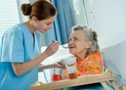 Servicio de acompañante en sanatorio y domicilo