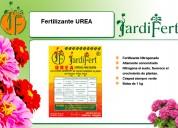 Urea, fertilizante nitrogenado altamente concentrado, jardifert todo para su jardín.
