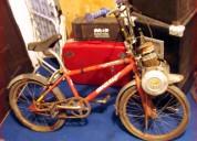 Bici bmx r. 20 con motor velosolex 3800