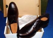 Zapatos de vestir hombre  marca lombardino flex nuevos, color negro, todo 100% cuero, nÚmero 46