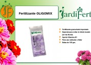 Fertilizante oligomix, jardifert todo para su jardín.