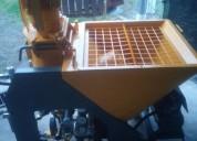 Máquina de proyectar cementos y yesos