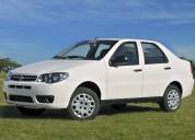 Fiat siena sedan, alquiler de autos sin chofer en montevideo, uruguay.