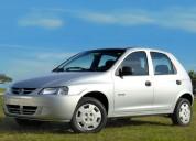 Chevrolet celta 5 puertas, alquiler de autos en montevideo, uruguay.