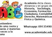 Profesores particulares de sociología, literatura, historia, filosofía, economía, derecho