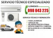 Tecnico en aire acondicionado instalación reparación y mantenimiento