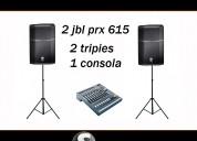 Audio y luces para fiestas en la barra- manantiales- jose ignacio