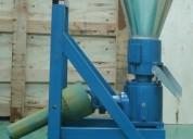 Peletizadora meelko 260 mm 35 hp pto 450-600kg