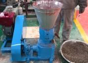 Peletizadora meelko 230mm 22 hp diesel para alfalfas y pasturas