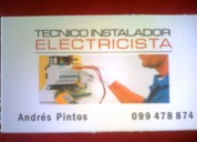 Tecnico instalador electricista