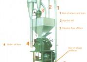 Molino meelko para harina de trigo 350-450kg kit completo