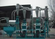 Molino Meelko para hacer harina de trigo hasta 500kg hora electrico trifase